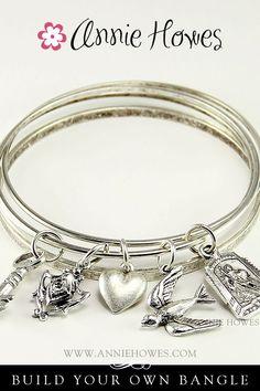 Jewelry-Making Supplies Bangle Bracelets | Photo Jewelry Making: Easy! How to Add A Charm to A Bangle Bracelet ...