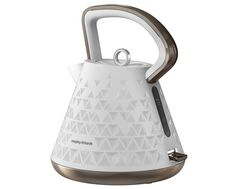 The most beautiful kettle ever! 1.5L White Cordless Prism Kettle
