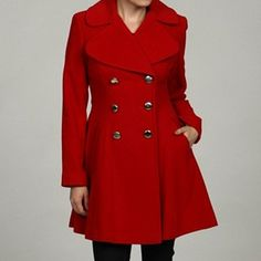 I want a red coat.