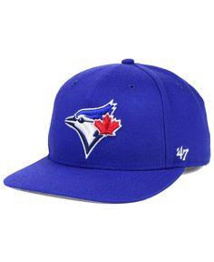 size 40 09691 f3ab2  47 Brand Toronto Blue Jays Sure Shot Snapback Cap   Reviews - Sports Fan  Shop By Lids - Men - Macy s