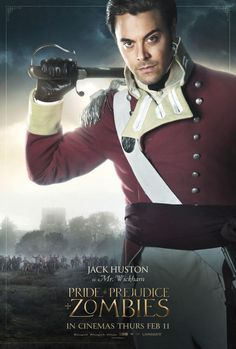 Pride and Prejudice and Zombies Mr. Wickham Poster - Jack Huston