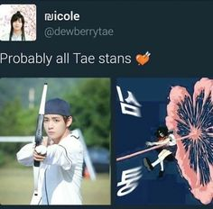 As a Tae stan, I can confirm this to be true. | BTS V