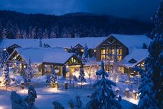 When it's cold outside, there's nothing better than curling up in front of a fireplace in a cozy winter lodge, and these 10 hotels and resorts make for the ultimate winter escapes.