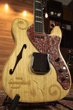 Fender custom shop 'La Riata' Carved Telecaster