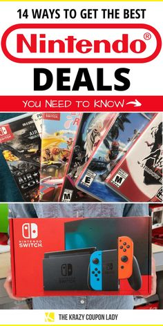 Need to save money on Nintendo this Christmas? Us too! Nintendo deals are hard to come by, especially on consoles, so, The Krazy Coupon Lady wants to make sure you're getting the best possible deal when you purchase Nintendo products. Whether it's you or your kids playing Mario Kart, Splatoon, The Legend of Zelda, and all the rest, you should know how to get the best prices on your Nintendo Switch, games, and accessories. #nintendo #gaming #savemoney