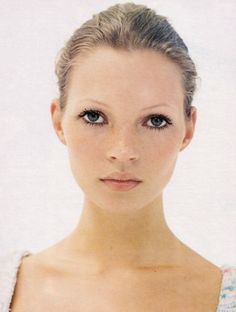 """Kate Moss by Corinne Day for Vogue UK March 1993"""
