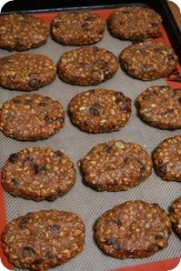 home made pumpkin spice cliff (protein) bars