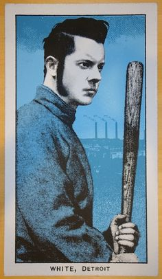 Jack White - silkscreen concert poster (click image for more detail) Artist: Rob Jones Venue: Fenway Park Location: Boston, MA Concert Date: 9/17/2014 Edition: 321; signed and numbered by the artist S