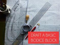 draft a basic bodice block