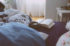 morning with book