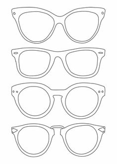 Sun Glasses Coloring Page Elegant Sunglasses Template Use for Back to School Night for Parents to Write Messages to their Kids Art For Kids, Crafts For Kids, Arts And Crafts, Paper Crafts, Kids Class, Preschool Art, Art Club, Summer Crafts, Art Plastique