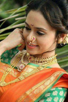 Beautiful maharashtrian bride