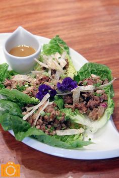 Chef Tatung Chicken Sisig Lettuce Wraps by Food Reviews Manila 5, via Flickr