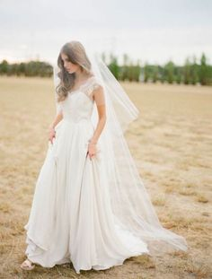 The Ultimate Guide to Bridal Veils: The Chapel Veil | Bridal Musings Wedding Blog