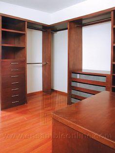 Muebles de Vestidor de Okumé