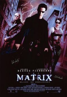 Check out WWW.ALLAUTOGRAPH.COM for the Matrix Autographed poster