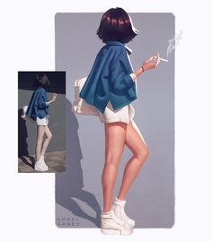 I dunno why but all I keep seeing is the missing cigarette in their hands 🙈 Some ootd studies~ My Instagram ❤: https://www.instagram.com/angelganev/