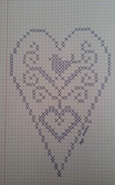 Designing Your Own Cross Stitch Embroidery Patterns - Embr Crochet Frog, Crochet Chart, Filet Crochet, Crochet Doilies, Crochet Stitches, Doily Patterns, Embroidery Patterns, Crochet Patterns, Cross Stitch Embroidery