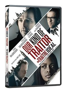 Our Kind of Traitor (2016) ... Perry (Ewan McGregor) and Gail Perkins (Naomie Harris) are a couple drawn into a dangerous game of international espionage, caught between Dima's (Stellan Skarsgard) money-launder, the Russian mafia, the British government, and Hector's (Damian Lewis) ruthless MI6 agent. (22-Dec-2016)