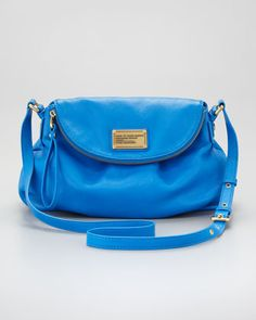 This just sold out at Shopbop :(  Classic Q Natasha Crossbody Bag by MARC by Marc Jacobs at Neiman Marcus.