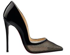 Christian Louboutin. Miluna pointed-toe pump. #christianlouboutinhandbags