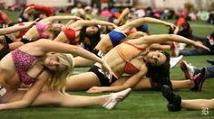 New England Patriots cheerleader tryouts - YouTube New England Patriots Cheerleaders, Gillette Stadium, Cheerleading, Youtube, Youtubers, Youtube Movies, Cheer