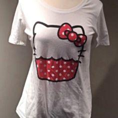 Hello kitty t-shirt White Hello Kitty white T-shirt Hello Kitty Tops Tees - Short Sleeve
