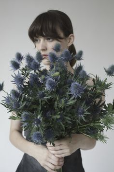 Sea Holly bouquet