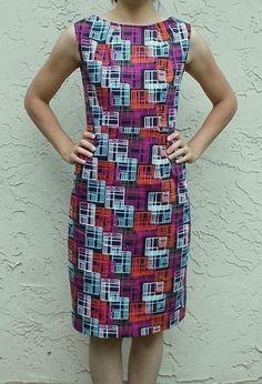Figure Flattering Free Dress Pattern in Peplum | AllFreeSewing.com
