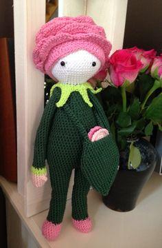 Roxy la Rose faite par Beatrice M - Patron au crochet de Zabbez