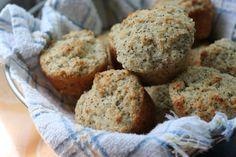 Whole Wheat Lemon Poppyseed Muffins. I definitely love a recipe that is healthier...