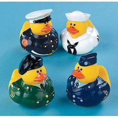 One Dozen (12) Armed Forces Rubber Duck Party Favors by OTC, http://www.amazon.com/dp/B000X3ZAAE/ref=cm_sw_r_pi_dp_m-uorb08XQ6HK