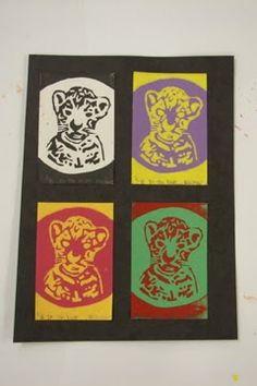 That Little Art Teacher: Printmaking w/ 6th grade