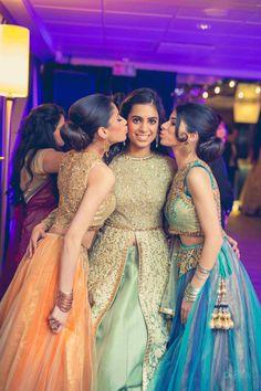 Photographer - Perfect Click! Photos, Sikh Culture, Beige Color, Bridal Makeup, Candid Clicks, Brides Sister Outfit pictures, images, vendor credits - Dipak Colour Lab Pvt Ltd, Sabyasachi Couture Pvt Ltd, WeddingPlz