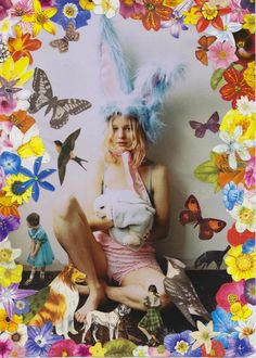 "contemporary kitsch magazine fashion photography ""Creature Fear"" from Rookie Magazine. Photography by Eleanor, collages by Ben Giles. Rookie Magazine, Teen Witch, In Kindergarten, Kitsch, Photos, Pictures, Art Inspo, Alice In Wonderland, Artsy"