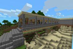 Easy build minecraft bridge!!
