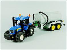 Lego Tractor, Lego Truck, Lego City Sets, Lego Sets, Lego City Fire, Lego Dragon, Lego Machines, Lego City Police, Lego Vehicles