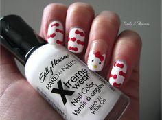 Nails & Threads: Hello Kitty Nail Art