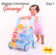 Day 1 of the Bigjigs Xmas Giveaway Christmas Toys, Xmas, Christmas Ideas, Marine Baby, Imaginative Play, Cool Toys, Happy Holidays, Baby Strollers, Giveaway
