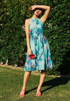 The Blogger the Better Dress, #ModCloth. Good for Tucson living.