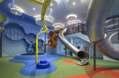 """Cinemaxx Junior, a colourful, kids-friendly integrated cinema with playground in Indonesia, has been awarded the """"Best Leisure or Entertainment Venue"""" accolade at FX International Design Awards 2016 in London. The concept of Cinemaxx Junior lies in its departure from the traditional movie-going experience. Cinemaxx Junior redefines and expands on the movie experience by offering patrons the f.."""