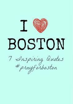 I heart Boston. We all do. #prayforboston
