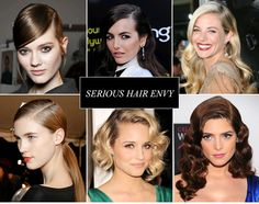 Fall hair trends: strong side parts #hairstyles #hair #fallinspiration