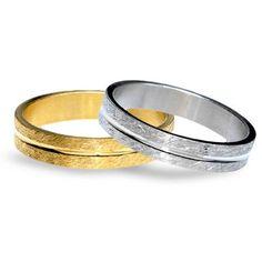 #aliança boda or bicolor #alianza boda oro bicolor Ref: 1080-OA-OB