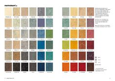 Marmoleum - Kinda want to look into making some kind of brightly colored pattern with this stuff.