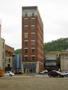 Johnstown, PA Empty towers