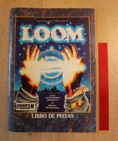 Libro de pistas Loom Spanish Castellano Erbe - LucasArts