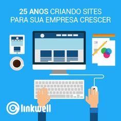 Websites profissionais, responsivos para ajudar sua empresa a atrair seus consumidores. http://www.linkwell.com.br/como-podemos-ajudar/websites.html