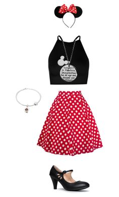 Untitled #1391 by tigergirl121 on Polyvore featuring polyvore, fashion, style, Boohoo, ZooShoo, Disney and clothing