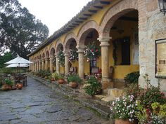 Hacienda Spanish Tuscan outdoor detail